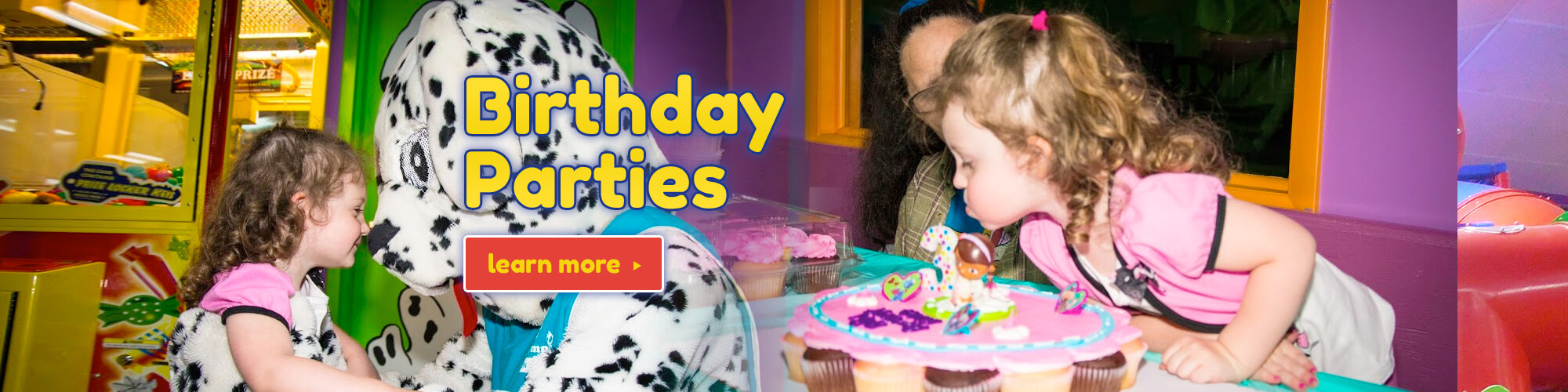 Birthday Party, Child's Party, Kids' Party. Party Venue