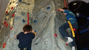Challenge The Only Indoor Rock Wall