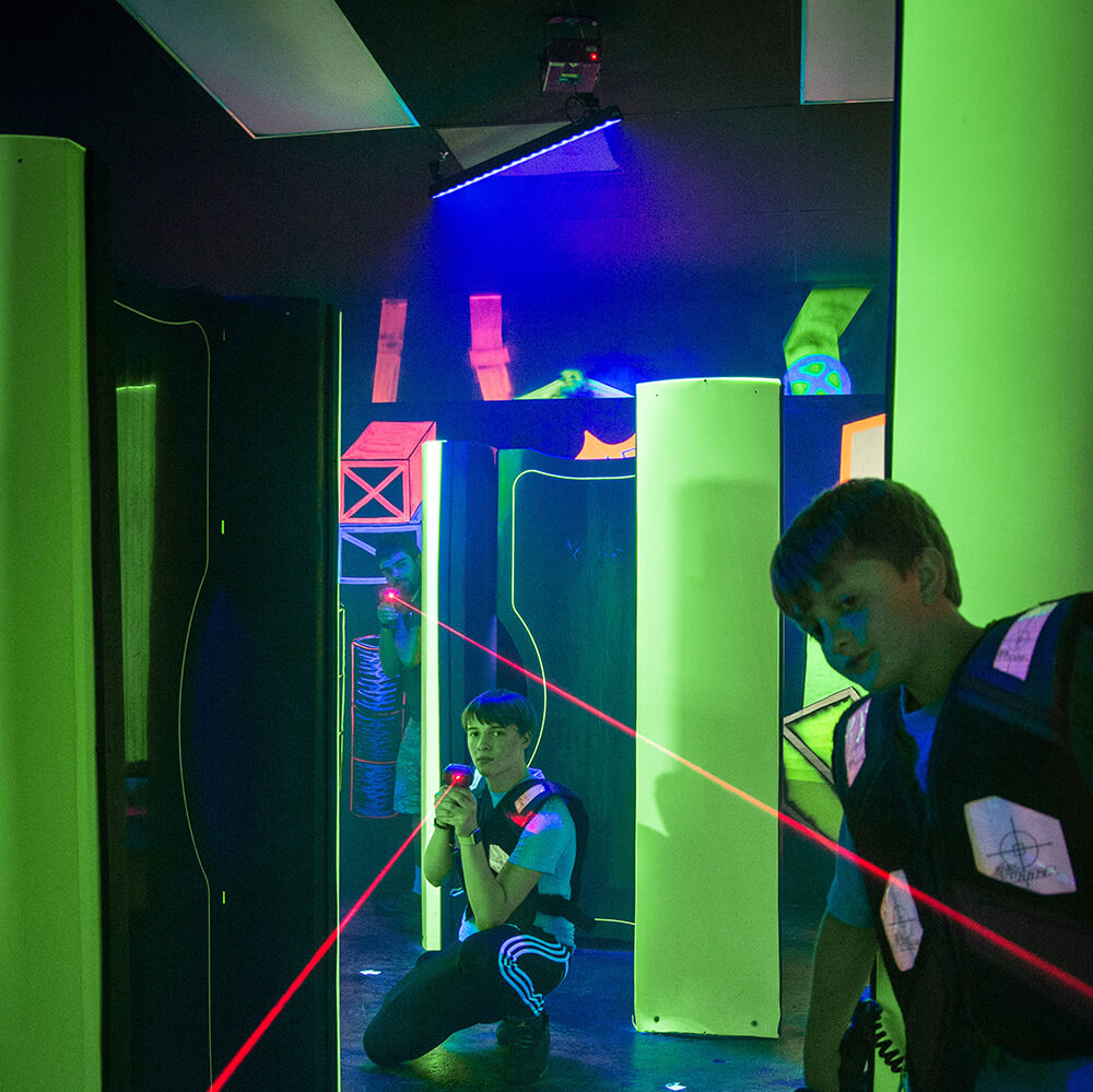 Lazer Tag, Family Fun, Cosmic Night